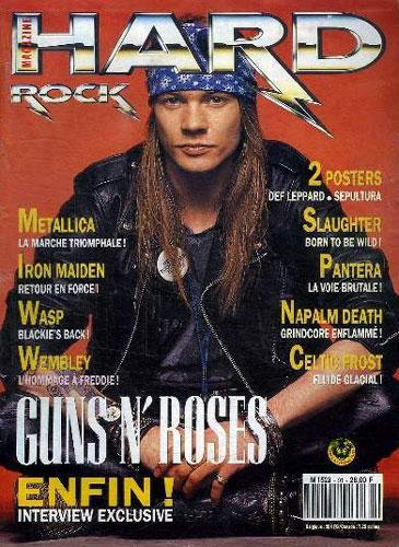 Hard Rock Magazine N°91 - Juin 1992