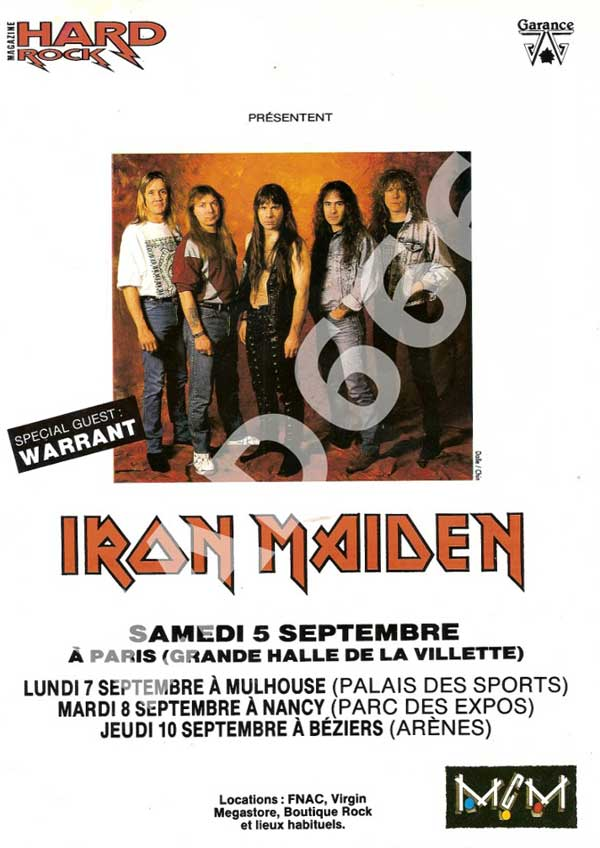 Hard Rock Magazine N°94 - Septembre 1992