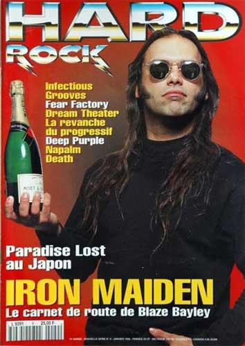 Hard Rock Magazine NS N°9 - Janvier 1996