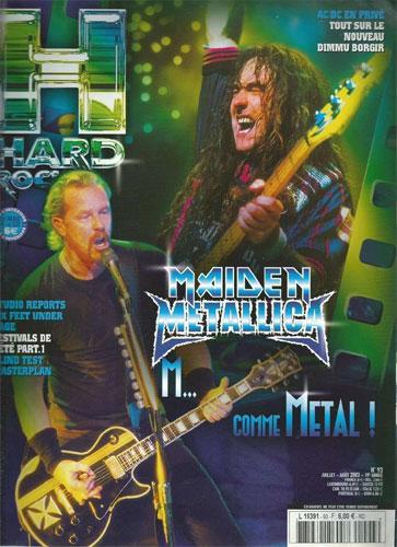 Hard Rock Magazine NS N°93 - Juillet / Août 2003