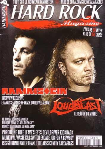 Hard Rock Magazine N°25 - Août / Septembre 2009