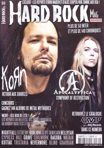 Hard Rock Magazine N°30 - Août / Septembre 2010