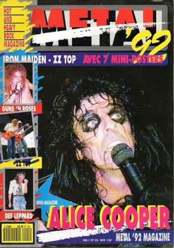 Metal '92 N°1 - Aout 1992