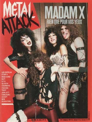 Metal Attack N°19 - Juin 1985