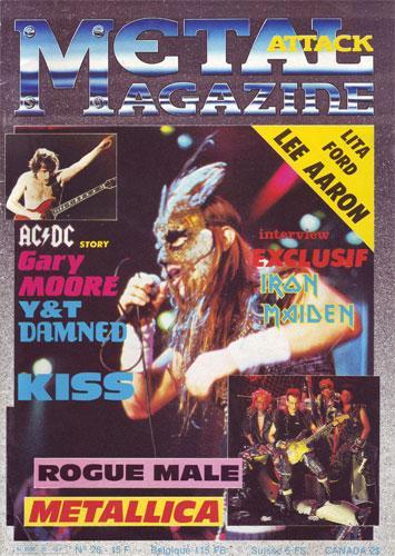 Metal Attack N°26 - Nov. 1985