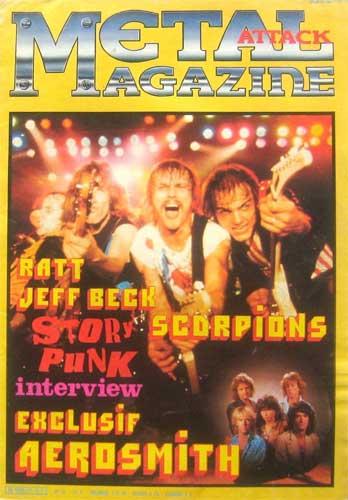 Metal Attack N°27 - Décembre 1985