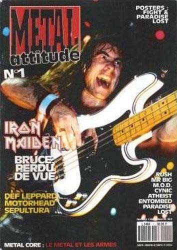 Metal Attitude N°1 - Novembre 1993