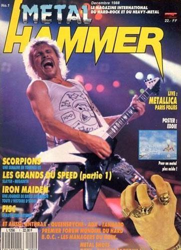 Metal Hammer N°1 - Décembre 1988