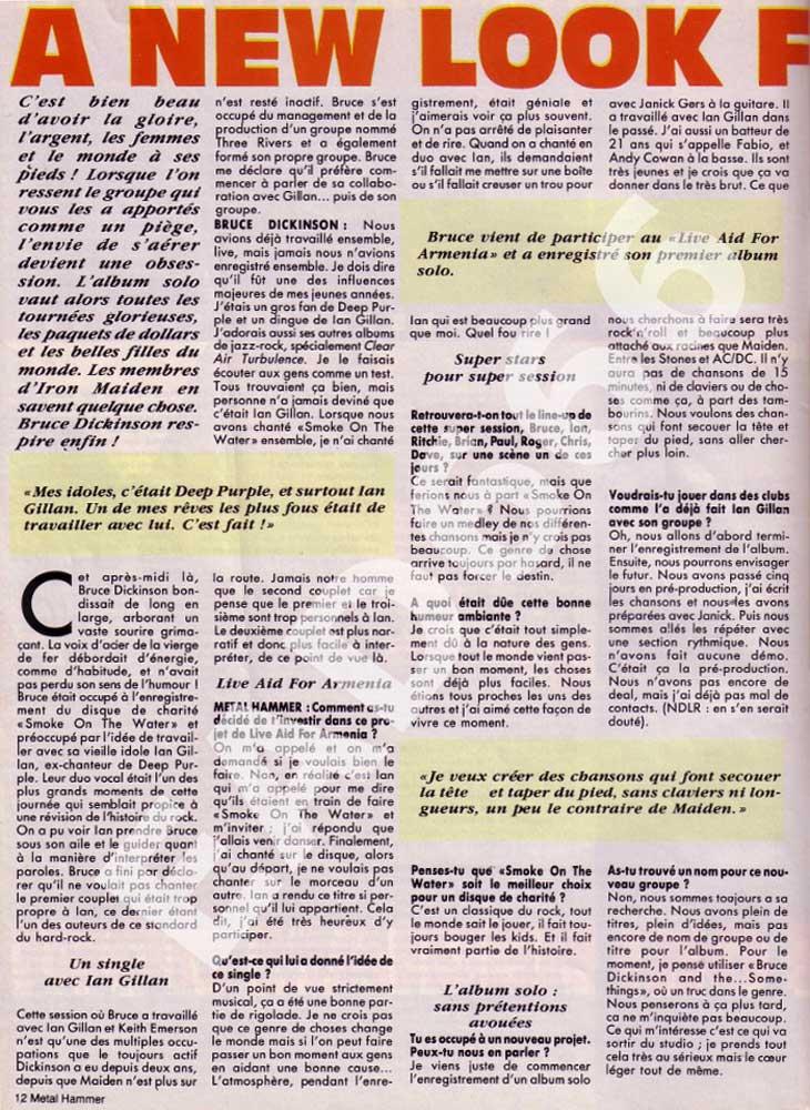 Metal Hammer N°13 – Décembre 1989