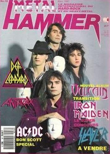 Metal Hammer N°16 - Mars 1990