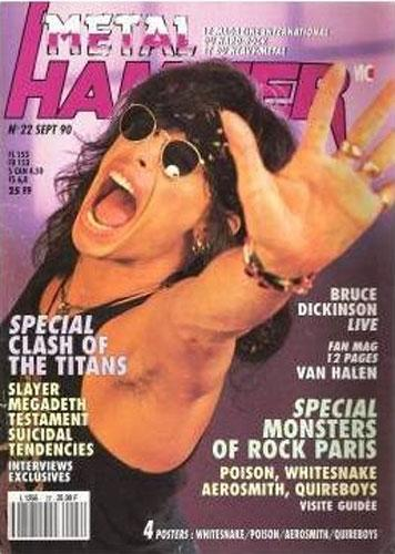 Metal Hammer N°22 - Septembre 1990