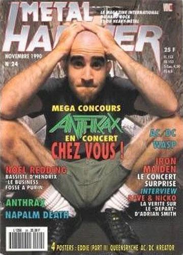 Metal Hammer N°24 – Novembre 1990