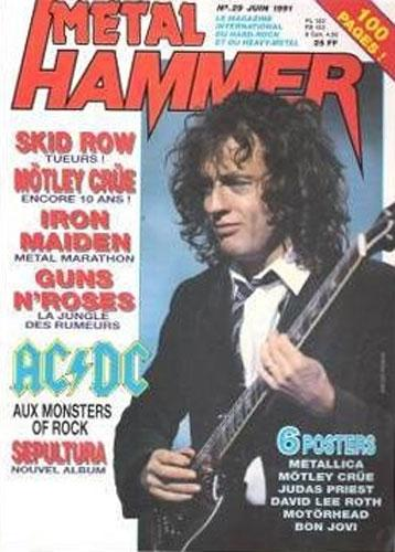 Metal Hammer N°29 - Juin 1991