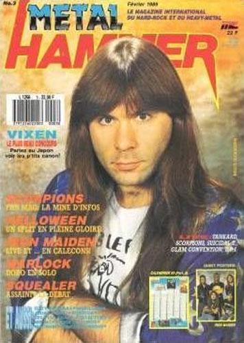 Metal Hammer N°3 – Fev 1989