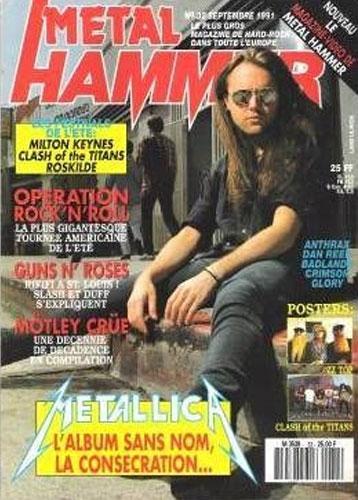 Metal Hammer N°32 - Septembre 1991