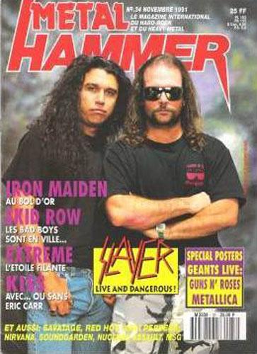 Metal Hammer N°34 - Novembre 1991