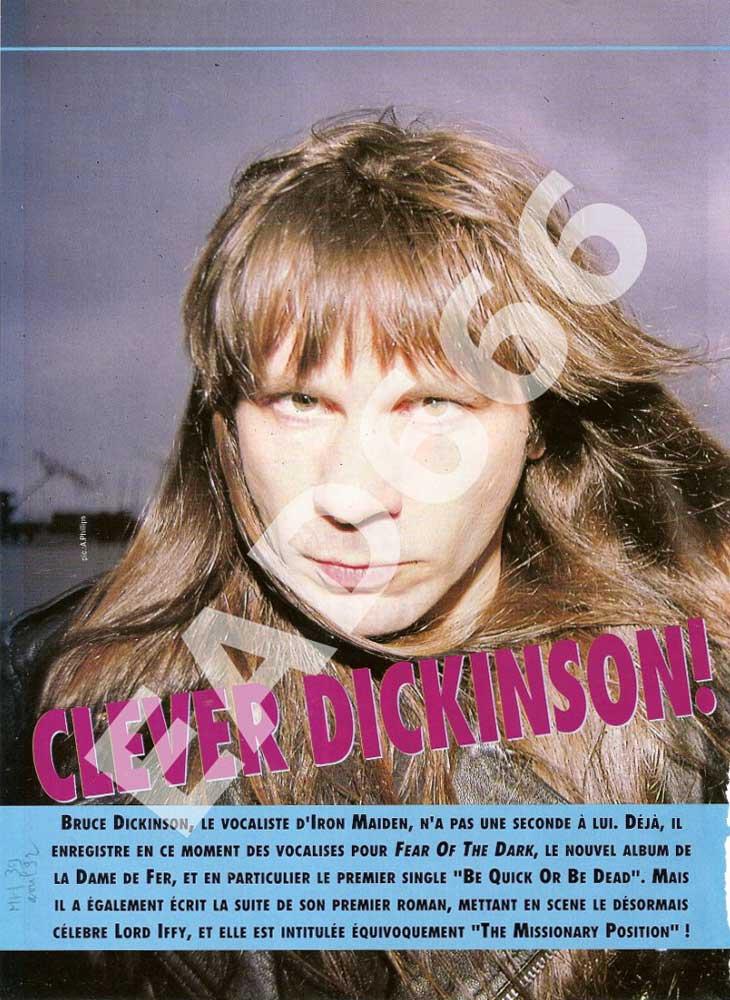 Metal Hammer N°39 - Avril 1992
