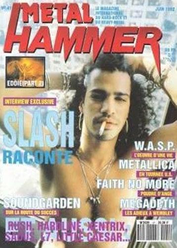 Metal Hammer N°41 - Juin 1992