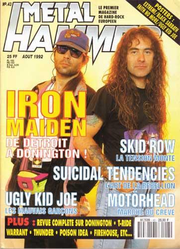 Metal Hammer N°43 - Août 1992