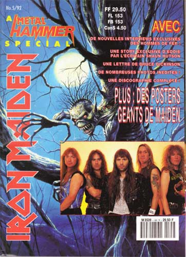Metal Hammer N°44H - Eté 1992