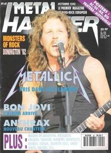 Metal Hammer N°45 - Octobre 1992