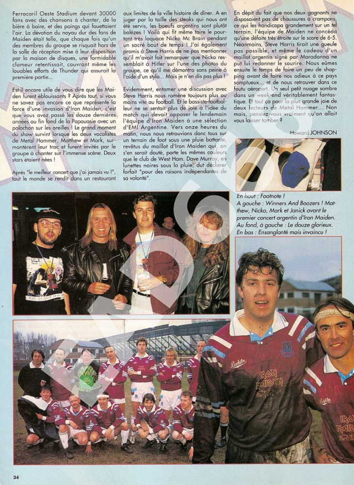 Metal Hammer N°45 - Octobre 1992