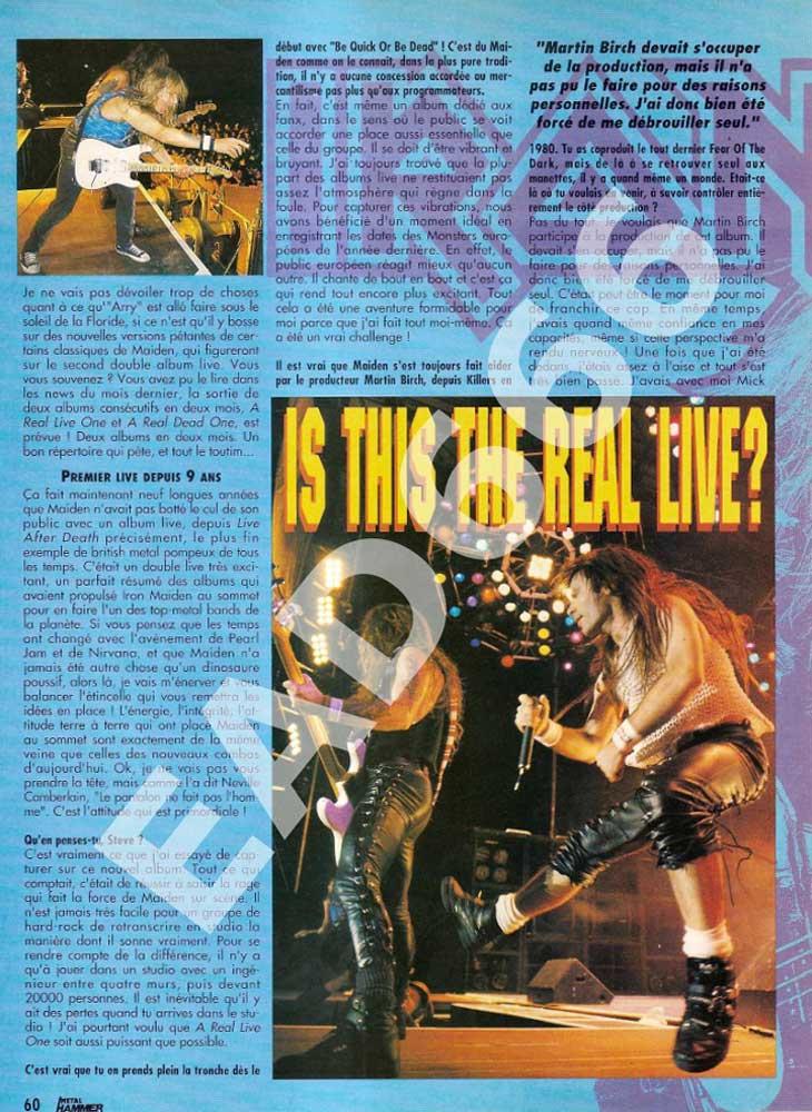 Metal Hammer N°50 - Mars 1993