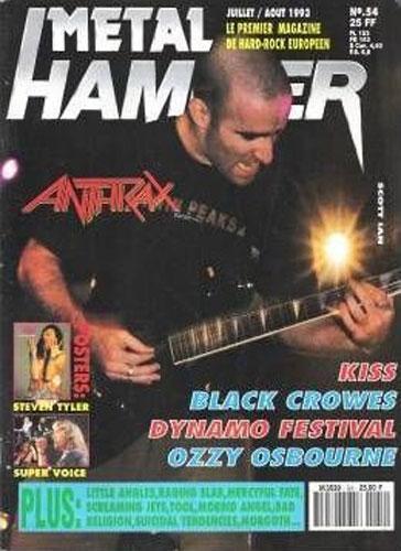 Metal Hammer N°54 - Juillet 1993