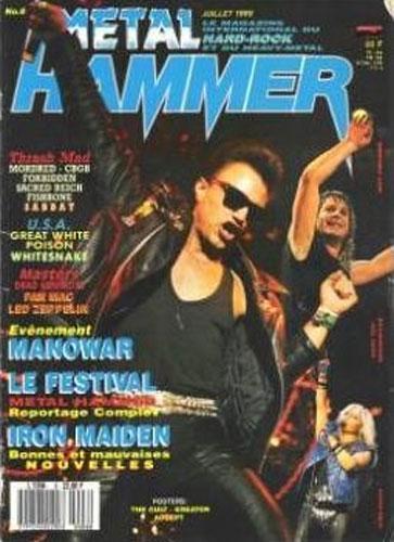 Metal Hammer N°8 - Juillet 1989