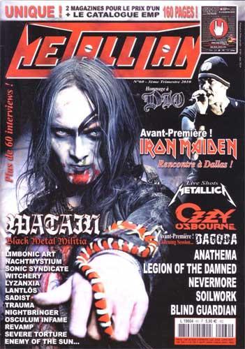 Metallian N°60 - Juin 2010