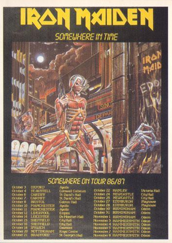 Somewhere On Tour 86/87 (Ref. New Line 99)