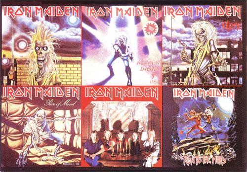 Iron Maiden 1980/1983 (Ref. P.c. 138)