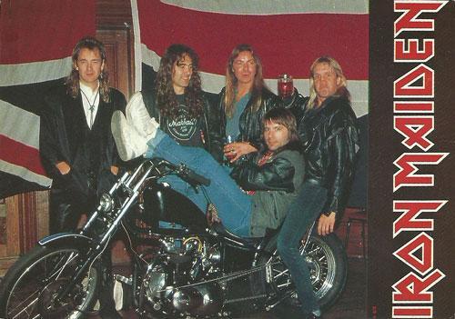 Iron Maiden (Ref. P.c. 25 - Italy)