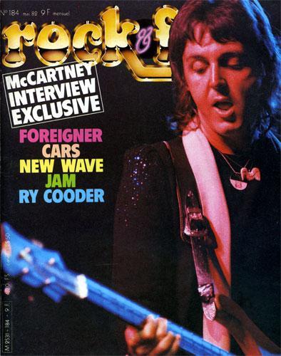 Rock & Folk N°184 - Mai 1982
