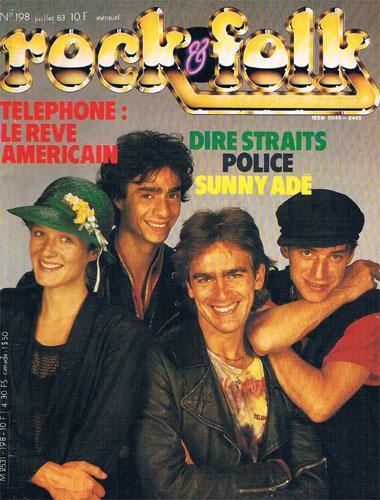 Rock & Folk N°198 - Juil 1983
