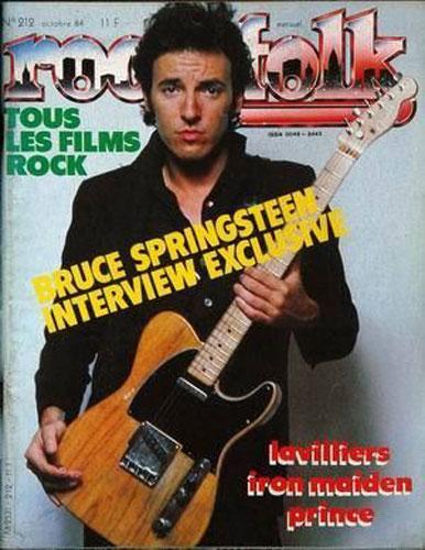 Rock & Folk N°212 - Oct. 1984