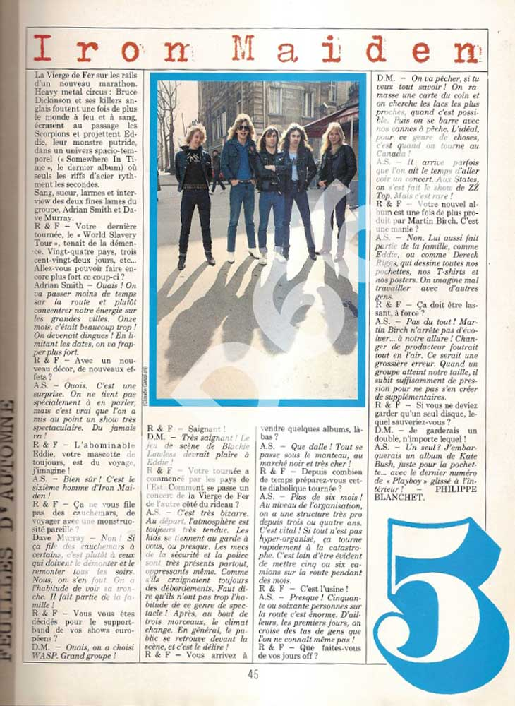 Rock & Folk N°236 - Décembre 1986