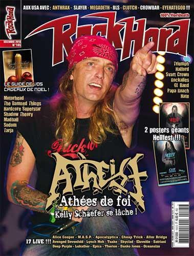 Rock Hard N°105 - Décembre 2010