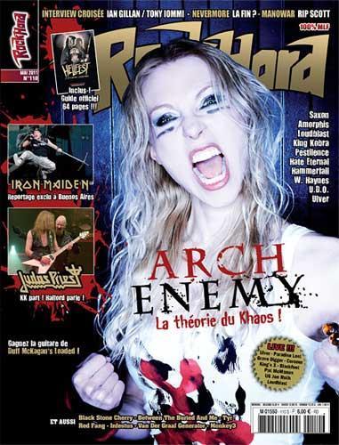 Rock Hard N°110 - Mai 2011