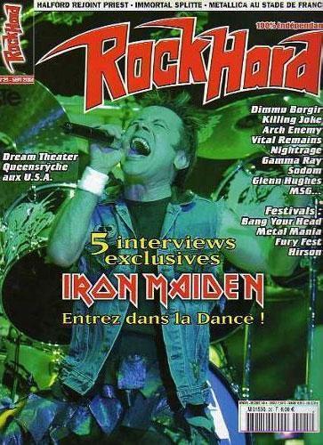 Rock Hard N°25 - Septembre 2003