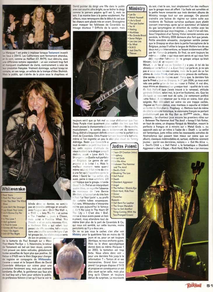 Rock Hard N°80 - Septembre 2008