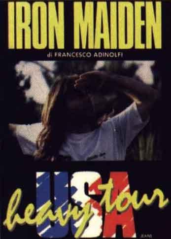 Iron Maiden USA Heavy Tour