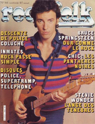 Rock & Folk N°166 - Novembre 1980