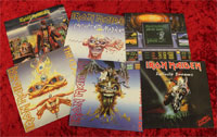 Iron Maiden Vinyles 2014