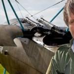 Bruce Dickinson pilote un Fokker