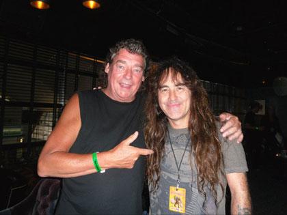 Dennis Stratton & Steve Harris