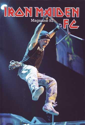 Iron Maiden Fan Club magazine #92