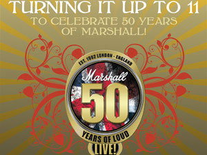 Marshall 50 Years Of Loud Live - Wembley - 2012