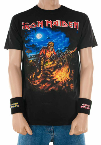 Iron Maiden Event Shirt France 2013