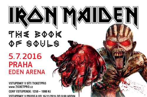Iron Maiden - Eden Arena - Praga - 16/07/05